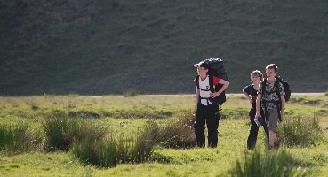 Trekking the moors